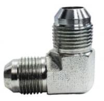 Adaptadores métricos dos encaixes cotovelo masculino da união do tubo de 37 graus SAE # os 070201 P/N ETX de Parker