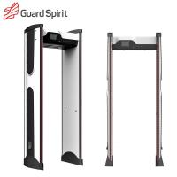 Buy cheap Forward / Reverse Counter Security Metal Detectors with 18 zones for Commercial building product