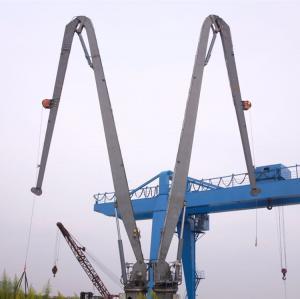 Buy cheap 1t@30m&2.5t@15m Marine Deck Crane Electrial Knuckle Boom Pedestal Crane product