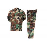Buy cheap Woodland   camouflage  Rip-stop BDU Woodland Army Police Uniforms product