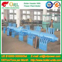 Buy cheap 10 T Plant Rate Factor Power 300 MW Boiler Steam Header Natural Oil Chemical Industry product