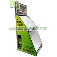 Light Duty Point Of Purchase Pos countertop Cardboard Display Articles For Daily Use cardboard counter display units