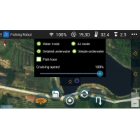 Buy cheap DEVICT smartphone control  autopilot for rc bait boat with gps product