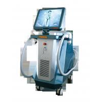 China White And Blue Beauty Diode Laser For Hair Removal Machine , 808nm Wavelength wholesale