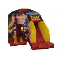 China Toy story themed inflatable combo disney woody inflatable small combo for children with digital printing on sale