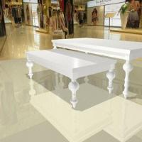 China Display Show Tables, Customized Designs are Accepted, Made of MDF with Paining on sale