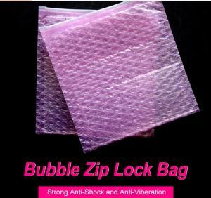 China zipper bubble envelope -printed on sale