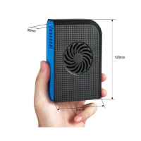 China Camping Gear Handheld 6000mAh Rechargeable Cooling Fan on sale
