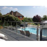Buy cheap Hot Easy Install Stainless Steel Post Glass Clamps Balustrade product