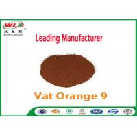 Buy cheap Pure Cotton Indanthrene Dye C I Vat Orange 9 Vat Golden Orange G product