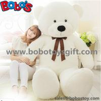 "Buy cheap 55"" Wholesale Price White Giant Push Bear Animal Toys as Christmas Gift from wholesalers"