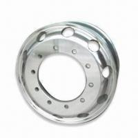 China 22.5X7.5 Aluminum Rim for Truck, with 26.75mm Stud Diameter and 220.1mm Center Hole on sale
