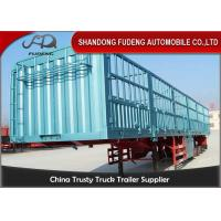 Buy cheap 40 Tons Side Wall Semi Trailer  Customized Dimensions 12 Units Container Lock product