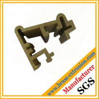 Quality window door frame brass copper extrusion profile sections for sale