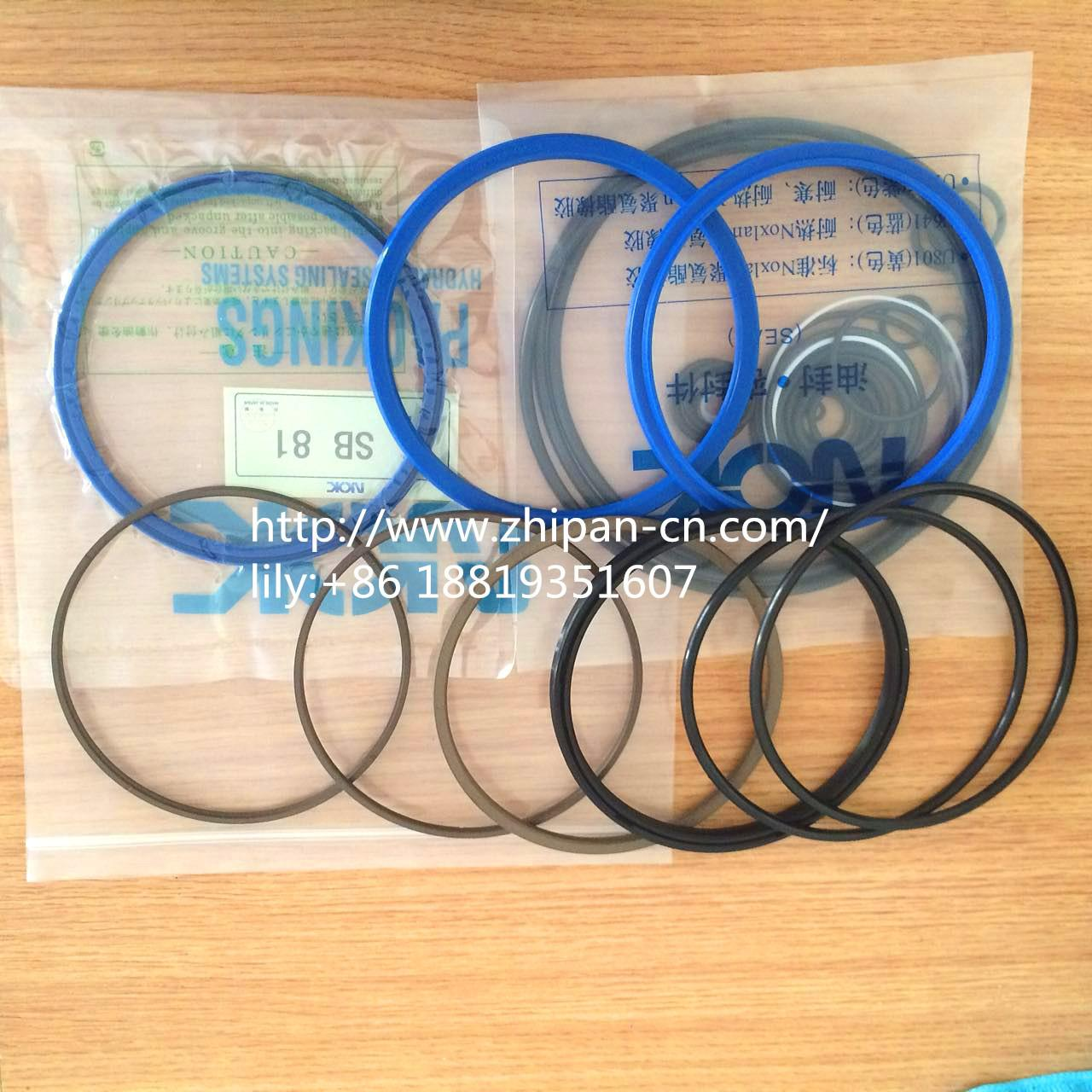 Buy cheap Soosan SB-81 Complete Breaker Seal Kit 1.5m/S Speed Abrasion Resistance product