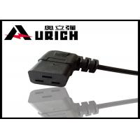 Buy cheap Customized Electric 3 Pin Right Angle Plug Power Cord U. S. & Canada Standard product