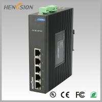 Buy cheap Fanless Dinrail Industrial Level Ethernet Network Switch For Plug And Play product