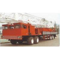 China  Oil Drilling Industry Truck Mounted Drill Rig Petroleum Equipment Workover Rig  for sale