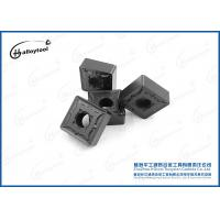 Buy cheap SNMG150612 Durable Tungsten Carbide Inserts CVD Or PVD Coating CNC Machined product