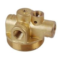 Buy cheap Lost wax , soluble glass process and Non Ferrous Metal Casting pump spare part product