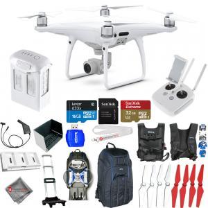 China DJI Phantom 4 Pro Quadcopter! NEW MODEL! MEGA Everything You Need Accessory Kit! on sale