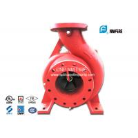Buy cheap Single Impeller Centrifugal UL FM Approved Fire Pumps Ductile Cast Iron Materials product
