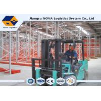 Cost Effective Pallet Warehouse Racking With Durable Steel / Epoxy Powder Coated