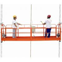 Buy cheap Temporary power rope Suspended Platform Swing Stage aluminum with 380V 3 phase product