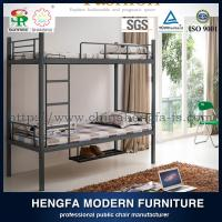 China High quality metal bunk bed with shoe shelf,military metal bunk bed on sale