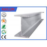 Buy cheap Industrial Extruded Aluminum I Beam Building Material With Silver Oxidation Surface Treatment product