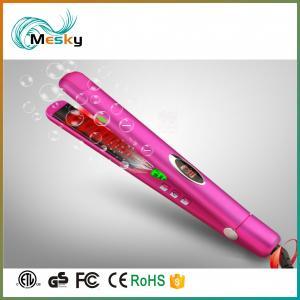 Buy cheap personalized hair straightener hair flat iron ionic ceramic flat iron fast heat hair straightener product