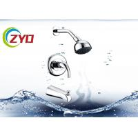 Buy cheap Hotel Shower Head Systems, Wall Mounded Hand Shower Set 304 SS Material product