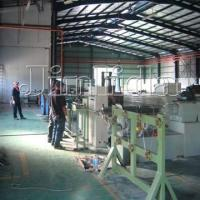Buy cheap Automatic Fabric PVC Wire Coating Machine , High Speed Pvc Coated Machine product