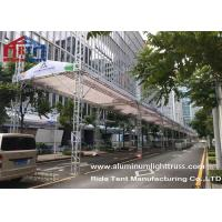 Buy cheap Heavy Duty Aluminum Stage Truss Banner Stand 500-800kg Loading Weight Solid Structure product