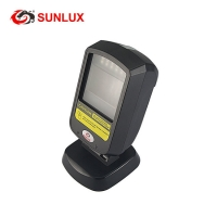 Buy cheap Black USB/RS232 Ratail Store Mobile Payment 2D QR Reader Barcode Scanner from wholesalers