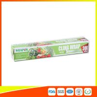 Buy cheap Food Grade PE Food Packing Plastic Wrap , Stretch Wrap Film For Kitchen product