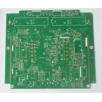 "Buy cheap 4 Layers Electronic Printed Circuit Board ENIG 2u"" Surface With Min 3/3 Mil Line Width / Space product"