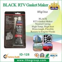 Buy cheap High Temp Silicone Rubber Sealant , Black RTV Gasket Maker For Vehicle Body product