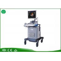 Buy cheap Half Order Trolley Ultrasound Scanner , Color Ultrasound Machine Acoustic Lens Focus product