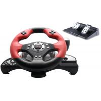 Buy cheap Big 2 Axis 12 Button P3 / P2 Steering Wheel And Pedals With Auto Centering product