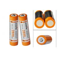 Buy cheap High capacity 3.7V Rechargeable Lithium Ion Battery for Led torch product