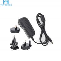 Buy cheap Interchangeable Universal Power Plug Adapter 12v 2.5a 30w product