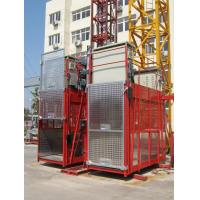 Buy cheap 150kg ISO Construction Hoist Elevator , building lifts with large load capacity product