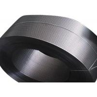 Buy cheap Galvanized Perforated Stainless Steel Tube , Slotted Metal Tube 0.4-1.0mm Thickness product