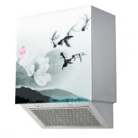Quality Wall Mounted Tempered Glass Kitchen Hood for sale