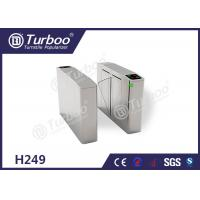 Buy cheap Flap Turnstile Security Gate CE Approved Biometric And RFID Reader Control product
