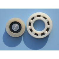 Buy cheap POM / PA66 High Precision Plastic Plain Bearings With Glass Stainless Balls from wholesalers