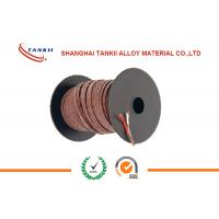 Quality Iron  Constantan Thermocouple wire 26AWG multi core cable  For Industry Instrumentation Heating for sale