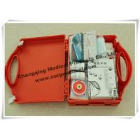 Waterproof First Aid Kits Plastic Emergency Assistance HSE Complian With Carrying Handle