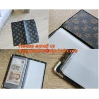Buy cheap A2/A3/A4/A5 plastisc display book with insert cover 20 pocket product